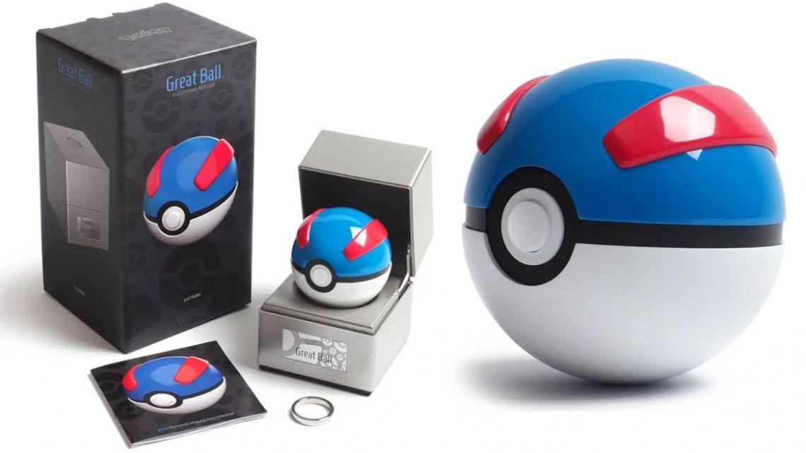 replica mega ball pokemon dettagli