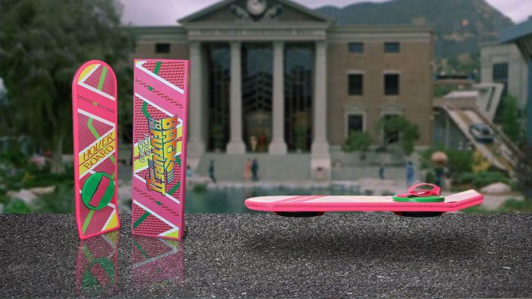 ritorno futuro hoverboard