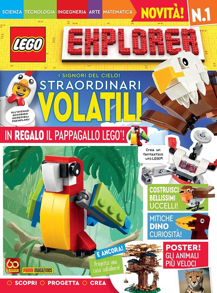 Lego Explorer rivista panini
