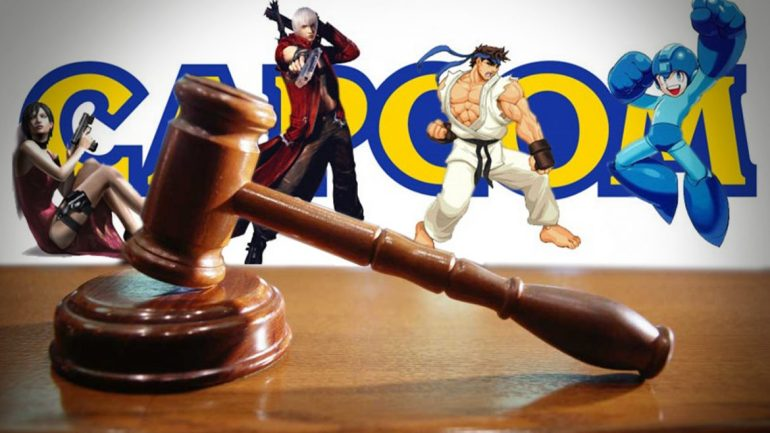 capcom copyright