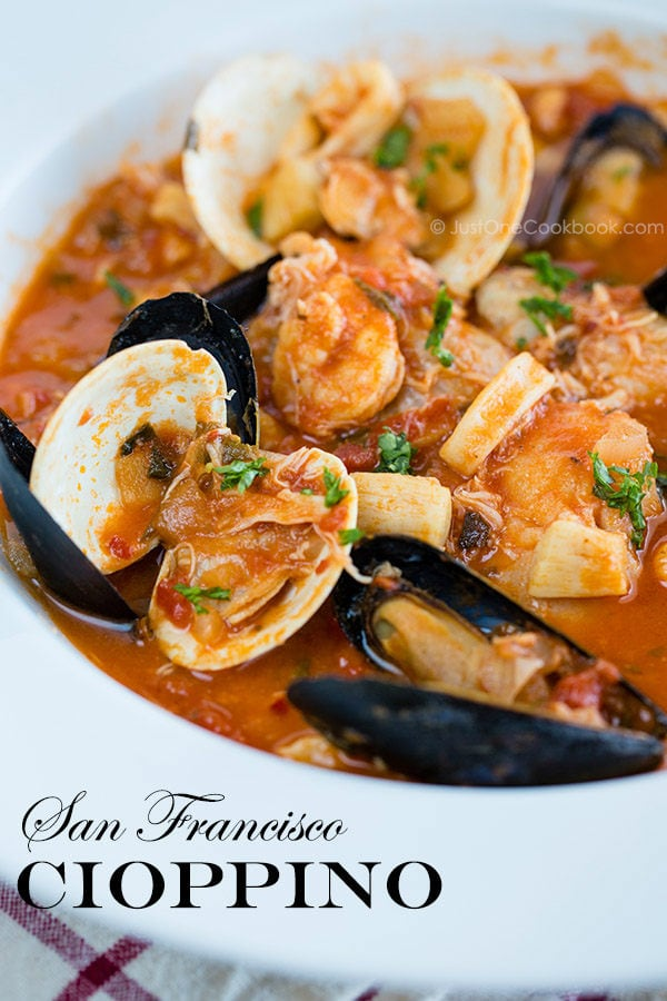 San Francisco Seafood Stew