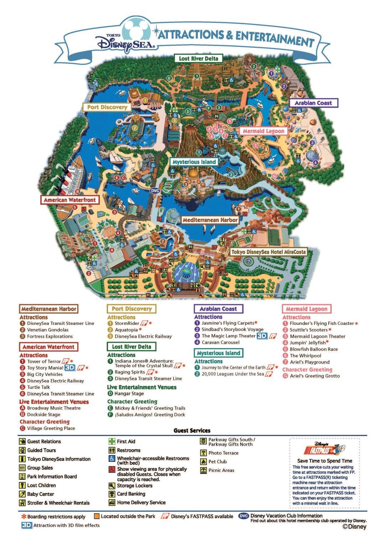 Best Tips For Tokyo Disney Sea Pineapple Meets World - Tokyo japan 3d map