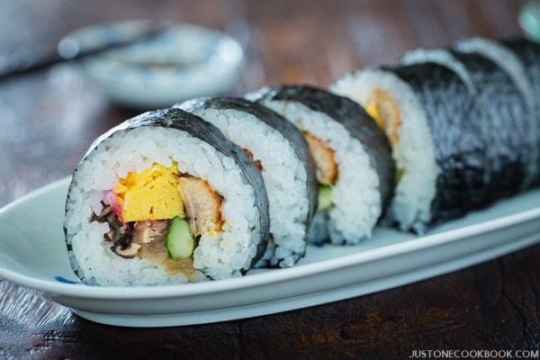 Futomaki 太巻き Maki Sushi Just One Cookbook