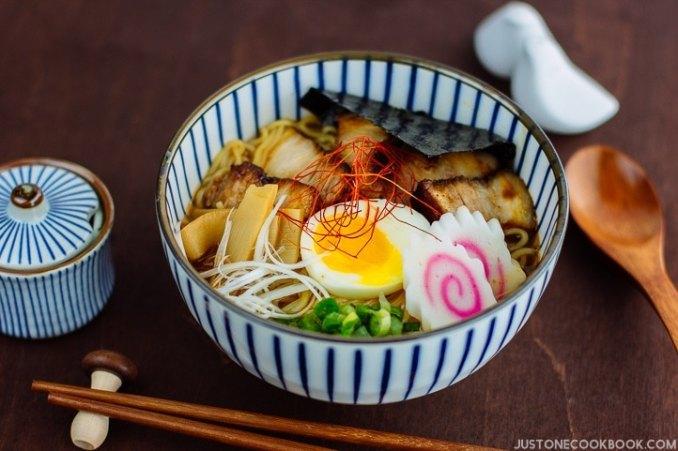 Spicy Shoyu Ramen スパイシー醤油ラメーン • Just One Cookbook