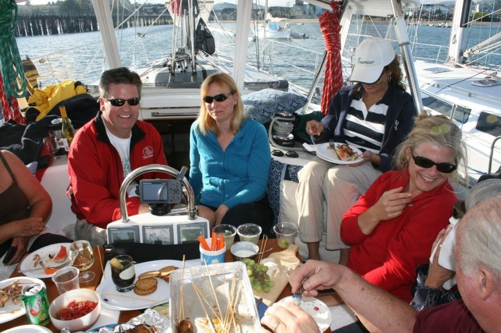 Our California sailing years – we were not bored!