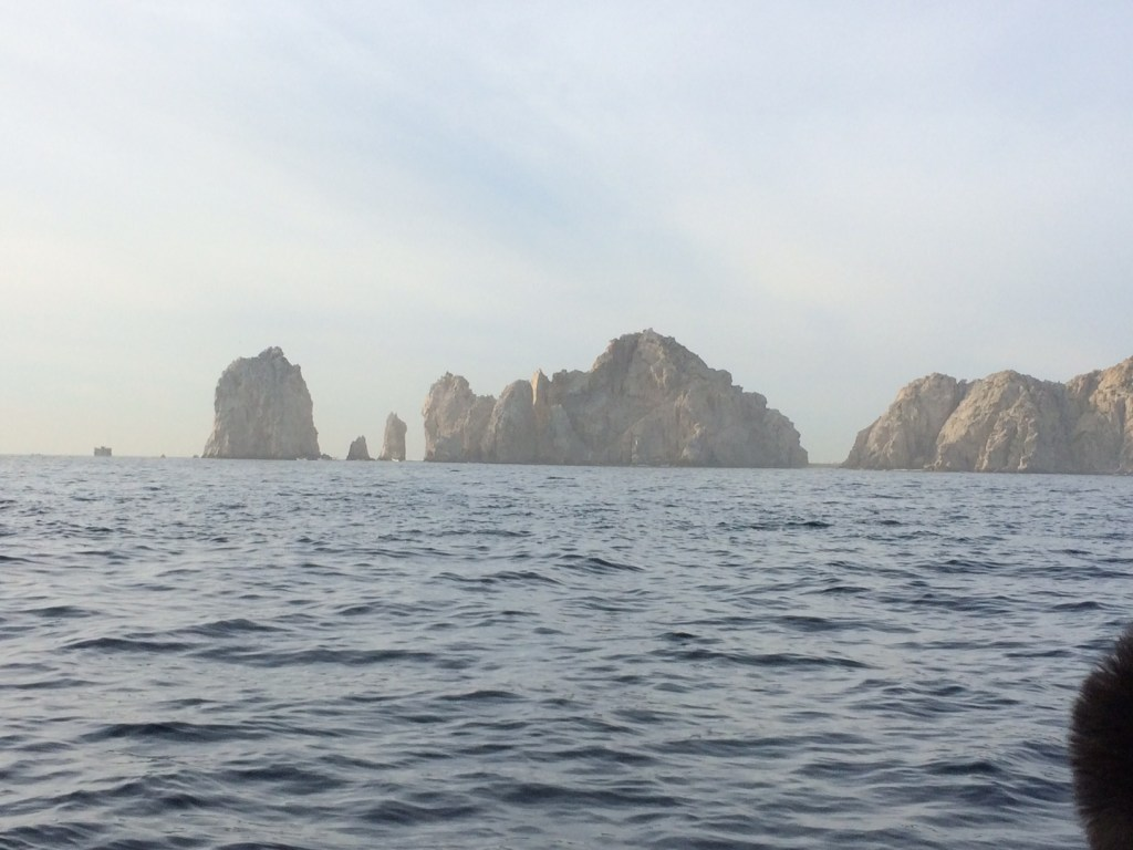 Riding the tender into Cabo