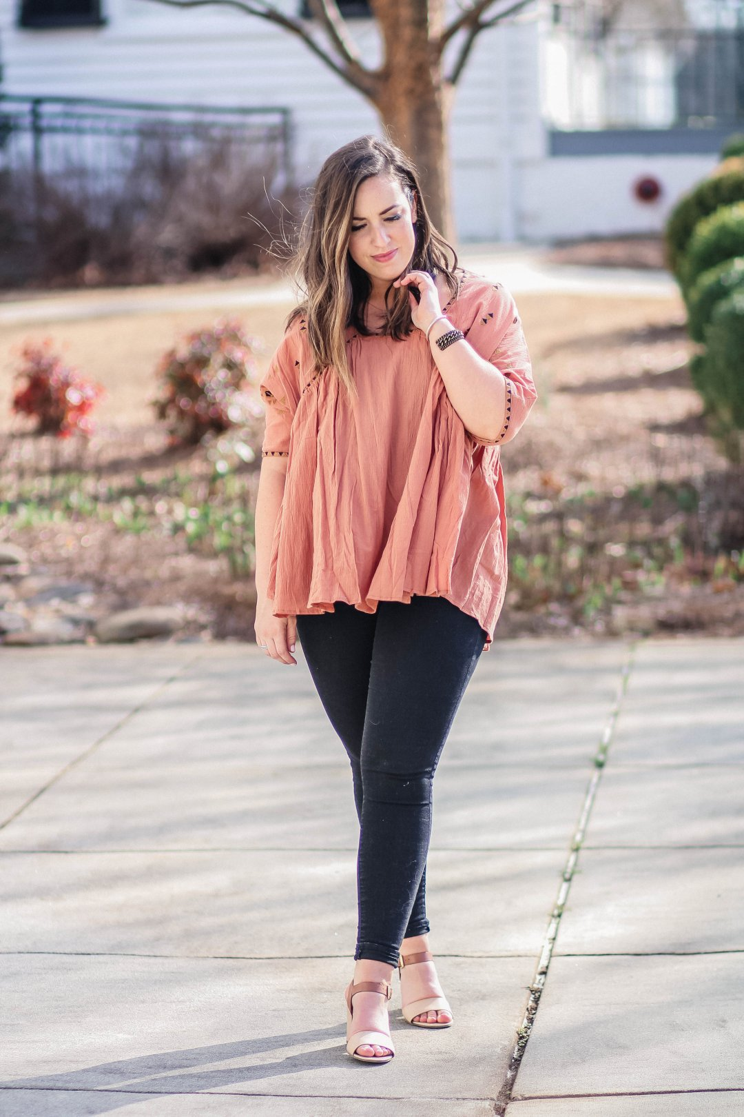 Flowy Bohemian Outfit | Just Peachy Blog