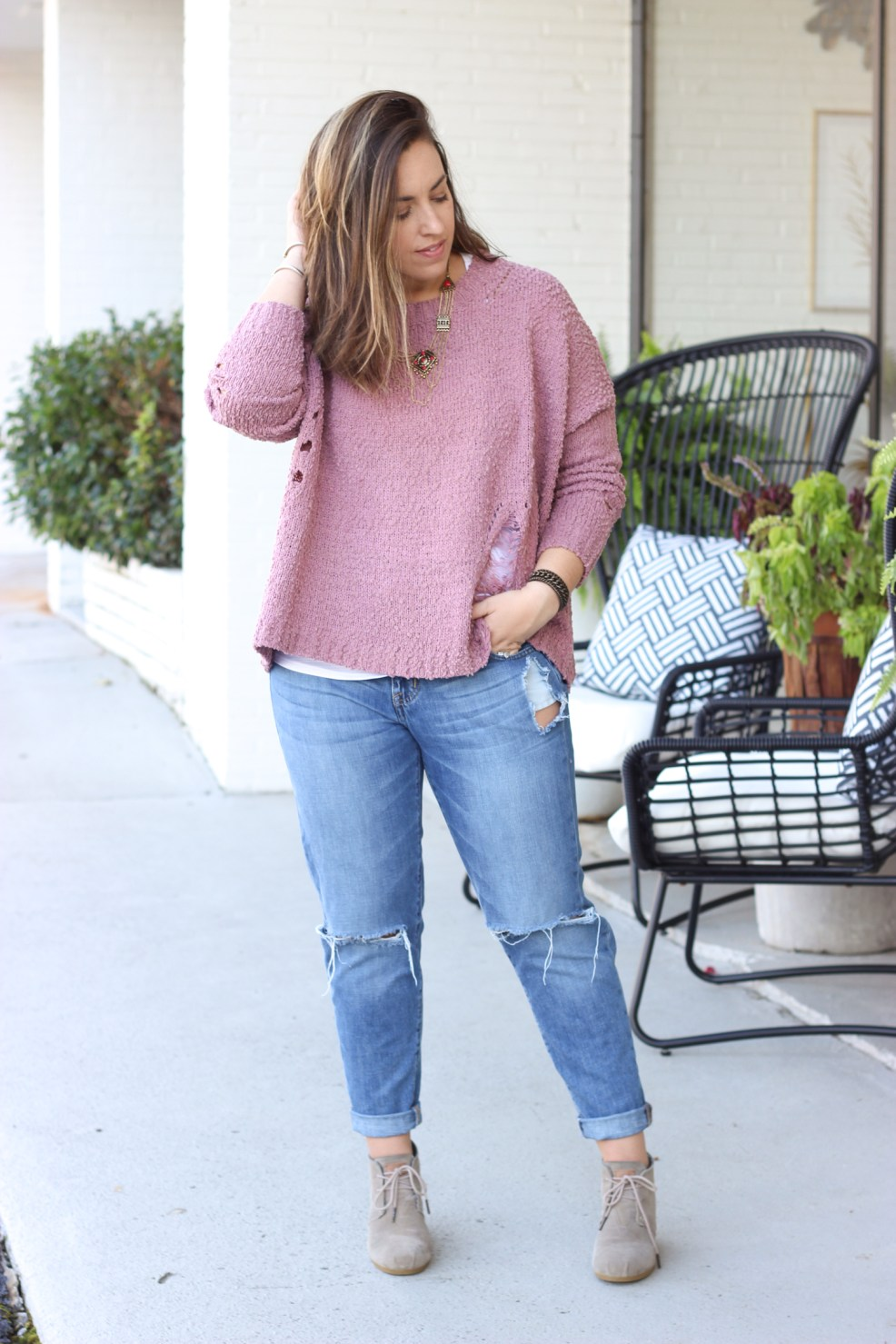 Tips for Layering Sweaters   Just Peachy Blog