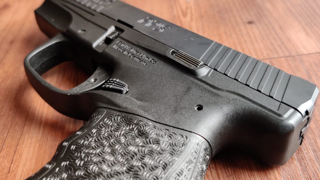 Walther PPS M2 Controls and Slide Serrations