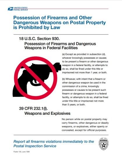 Poster 158 USPS