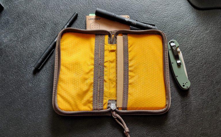 Lochby Pocket Journal Interior Pockets