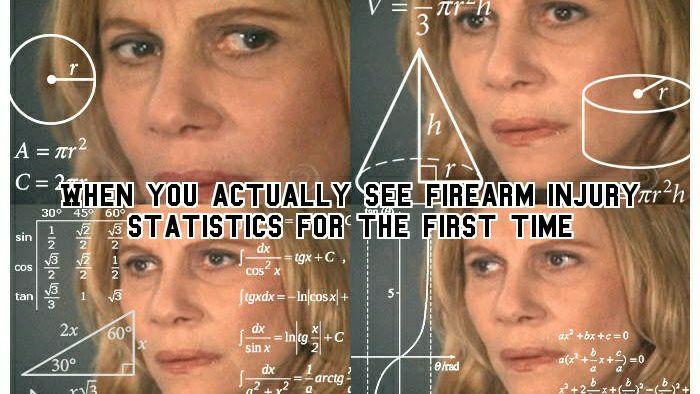 Firearm Injury Statistics-A Fresh Perspctive