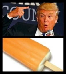 trump with creamsicle