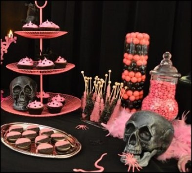 Black-and-Pink-Halloween-Party-Tablescape-1024x683
