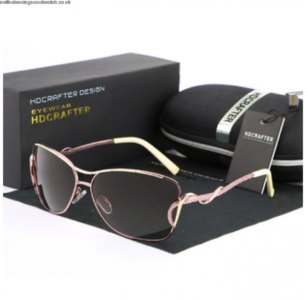 Women's Pink Designer Polarized Sunglasses