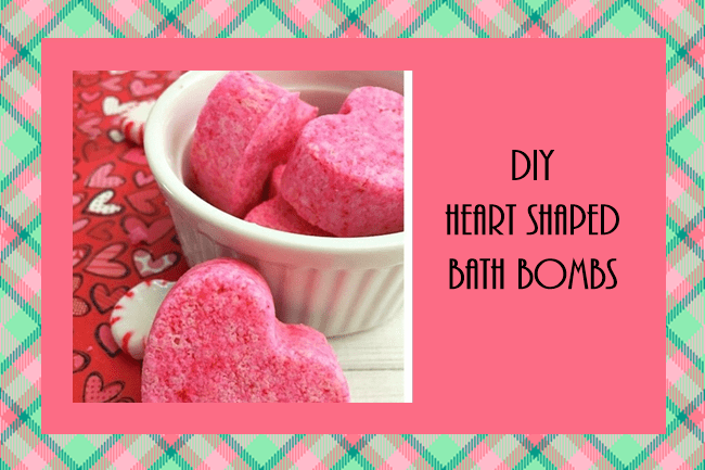 DIY PINK HOMEMADE BATH BOMBS