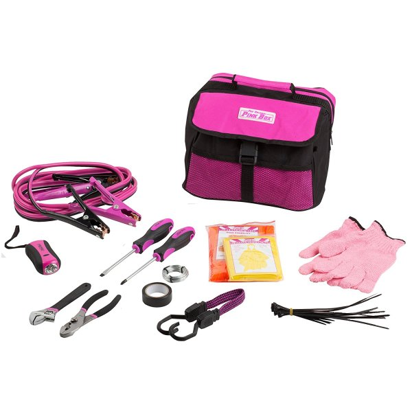 Original Pink Box Emergency Roadside Assistance Kit