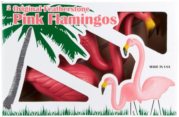 Original Featherstone Pink Flamingo's, Pack of Two