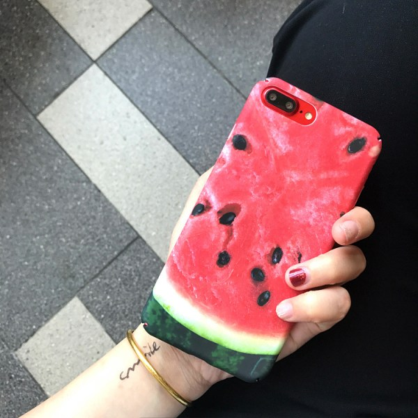 Watermelon Fruit Design Protective iPhone Case