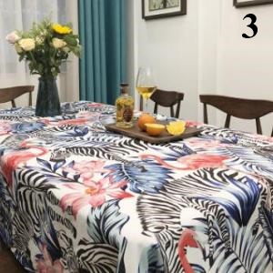 Flamingos Tablecloth Cotton Dinner Table Cloth For Kitchen Decoration Table  Cover Elegant Pastoral 3_640x640 3