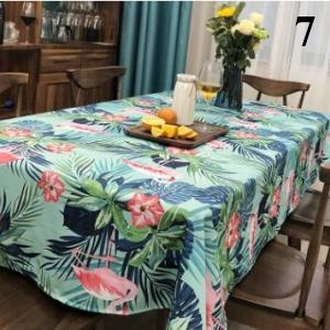Flamingos Tablecloth Cotton Dinner Table Cloth For Kitchen Decoration Table  Cover Elegant Pastoral 7_640x640 7