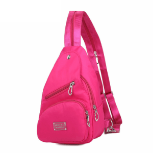 Women's Pink Canvas Fashion Backpack