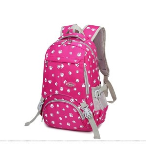 Women's Cute Paw Print Fashion Backpack