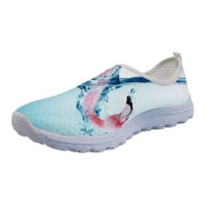 Women's Flamingo Design Summer Beach Loafers