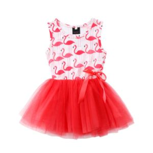 Toddler Baby Girls Sleeveless Flamingo Tutu Dress