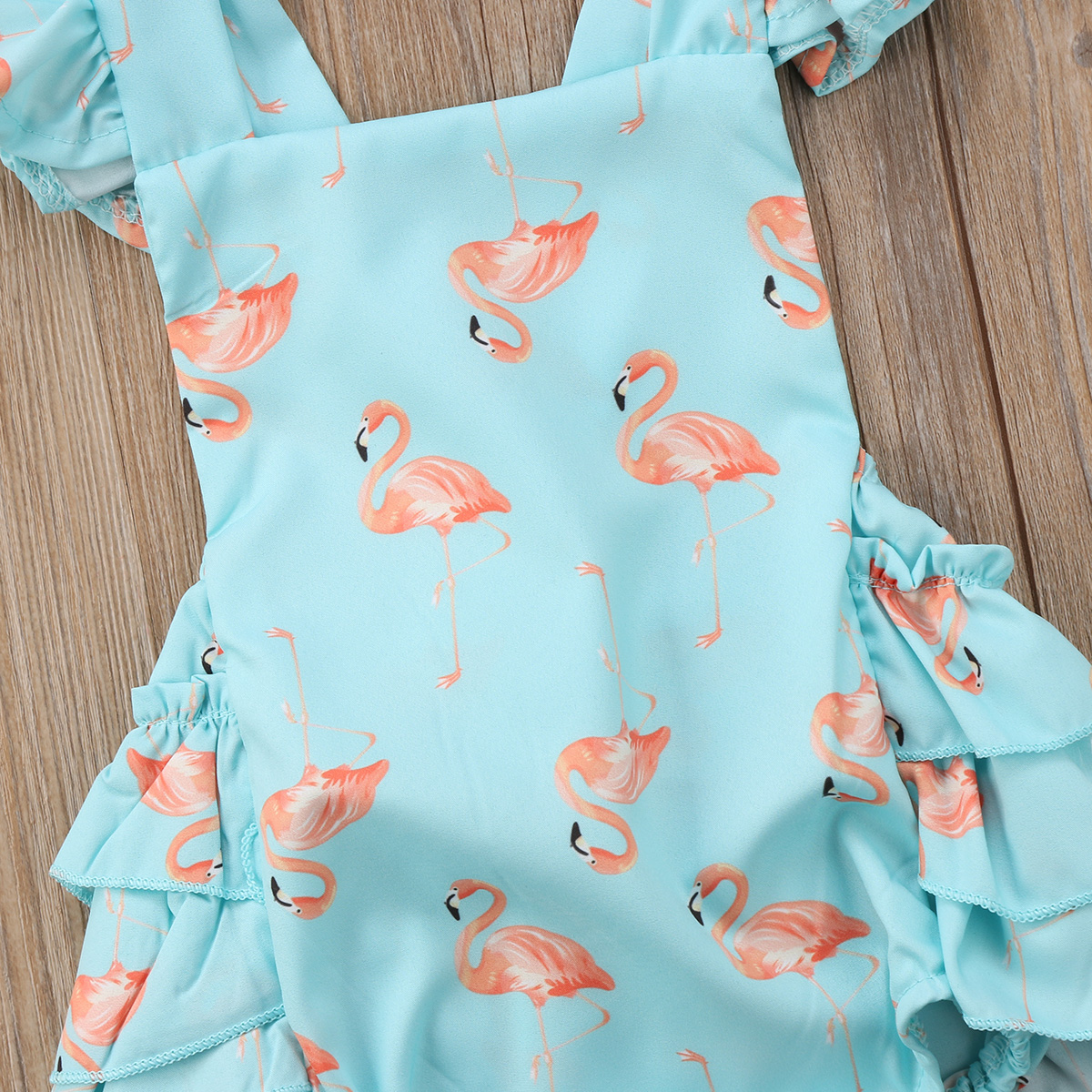 58577e6dc Summer Baby Flamingo Romper Headband Set - Just Pink About It