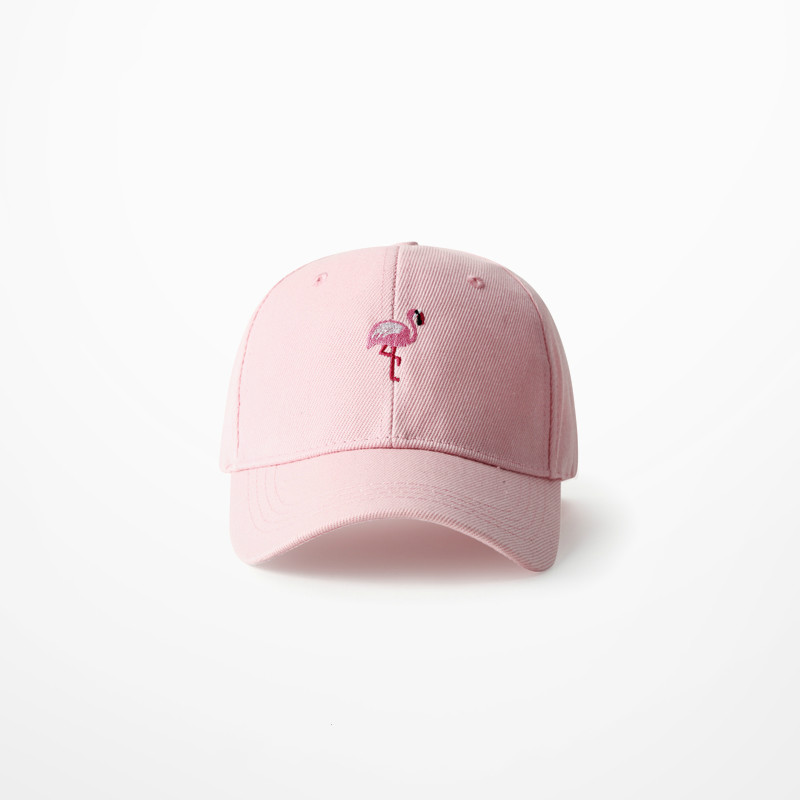 Women s Pink Flamingo Embroidered Baseball Cap - Just Pink About It 5152dde69aa