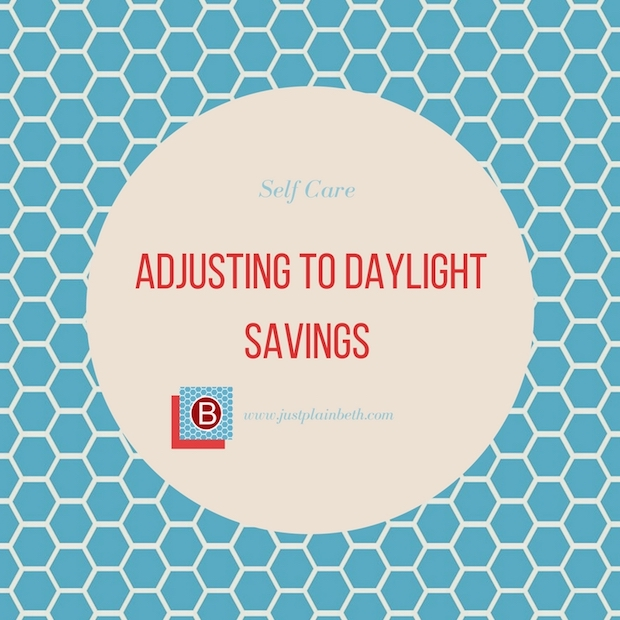 The Time Change: Adjusting to Daylight Savings