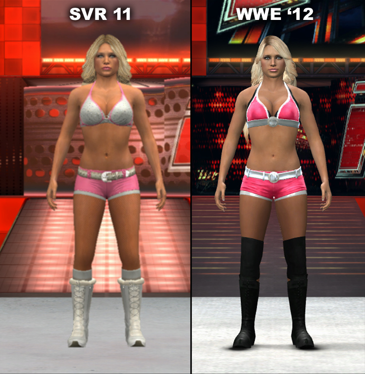 Smackdown Vs Raw 2011 And WWE 12 Character Model Changes