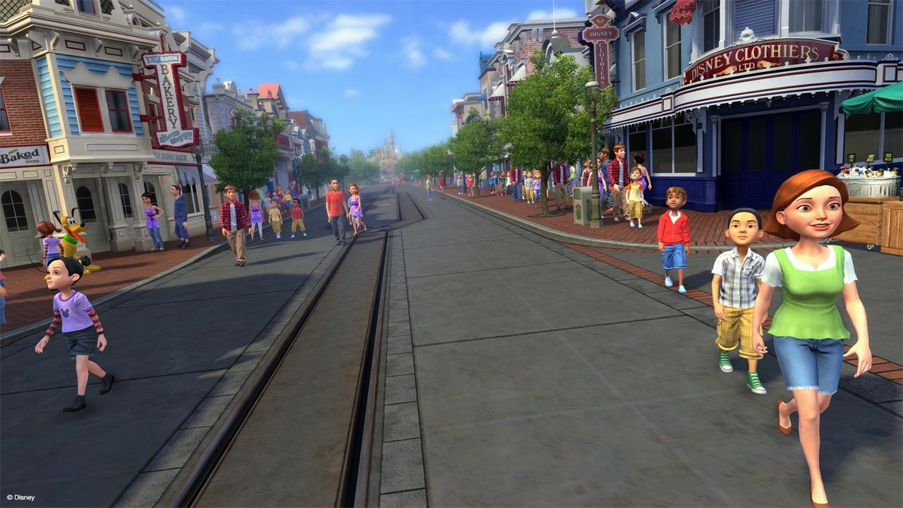 Kinect Disneyland Adventures Review Just Push Start