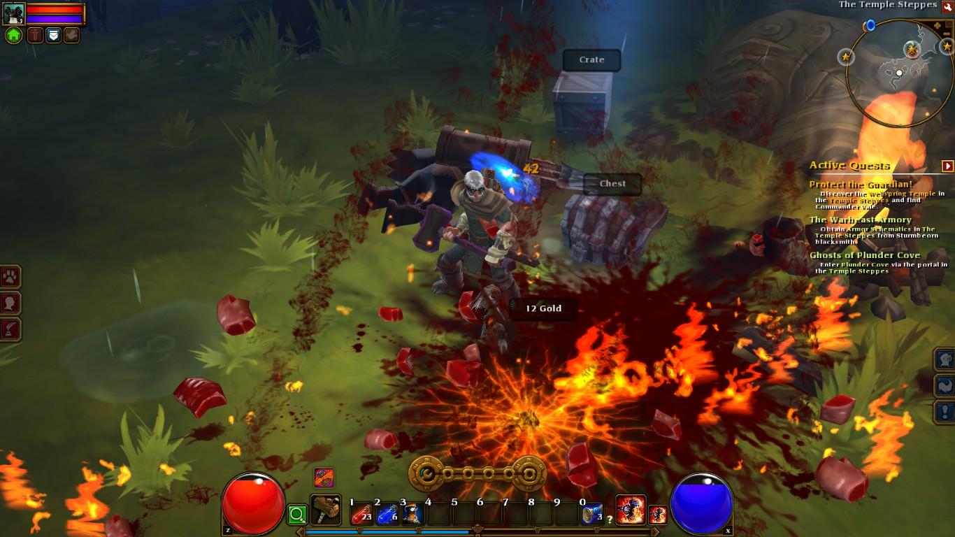 Torchlight 2 Gameplay Shot Just Push Start