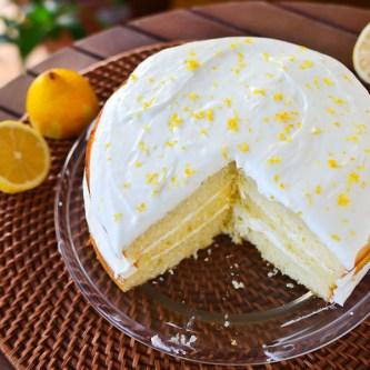 Lemon Lover's Layer Cake