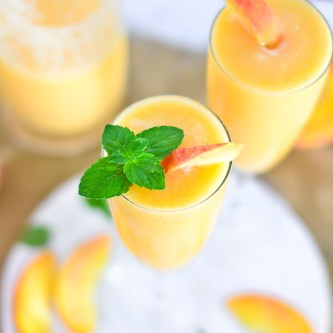 Thirsty Thursdays: Peach Coolers