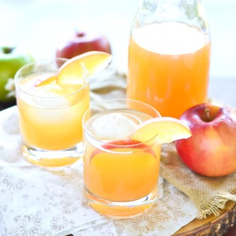 Apple Cider Cocktail…and a GIVEAWAY! {GIVEAWAY CLOSED}