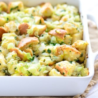 Fennel, Leek & Onion Stuffing