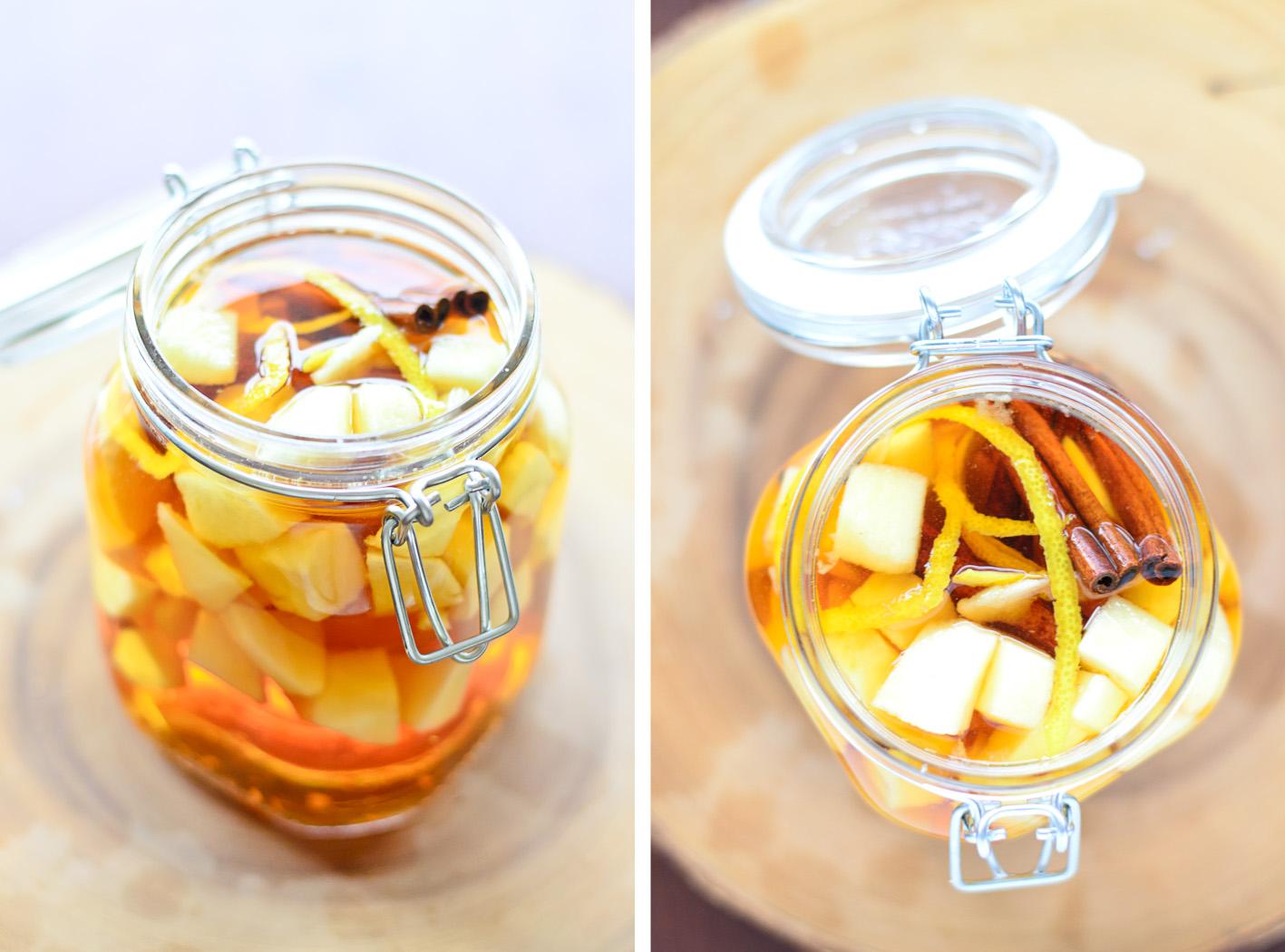 Apple Pie Bourbon Collage