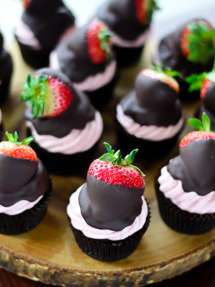 Chocolate Strawberry Cupcake 7f (1 of 1)