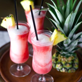 Lava Flow Cocktails…and a GIVEAWAY! {GIVEAWAY CLOSED}