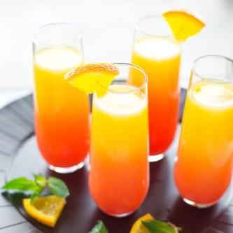 Tequila Sunrise Mimosas