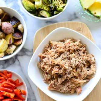 Crock Pot Kalua Pork + Hawaii