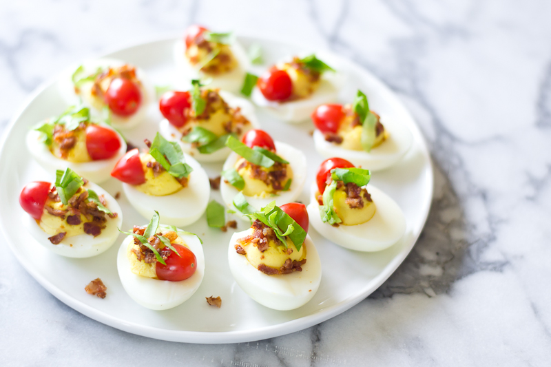 BLT Deviled Eggs 6
