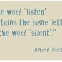 The Word 'Listen' Contains The Same Letters as the Word 'Silent'