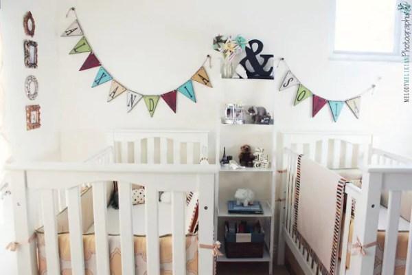 Quartos para bebês gêmeos - Just Real Moms