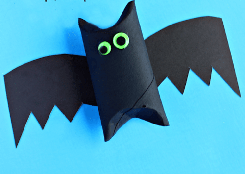Decoração de morcego