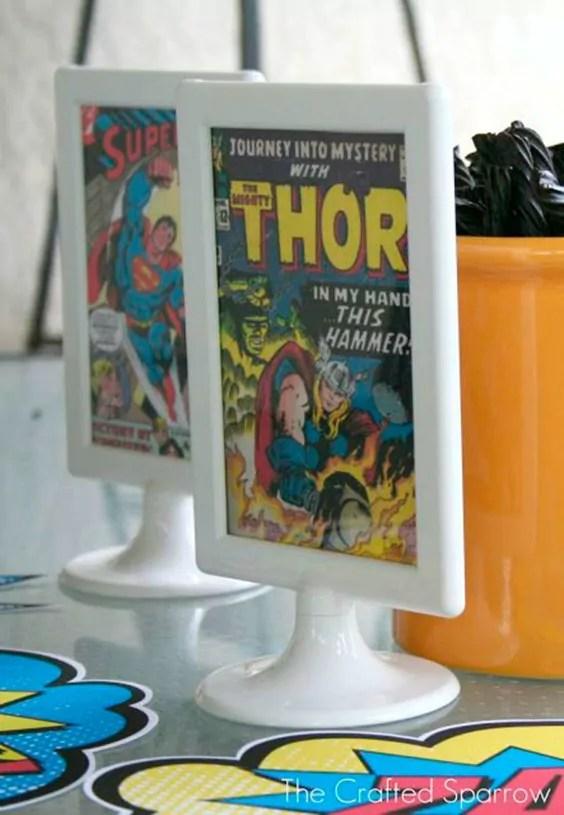 3 festas infantis para fazer com o tema Marvel
