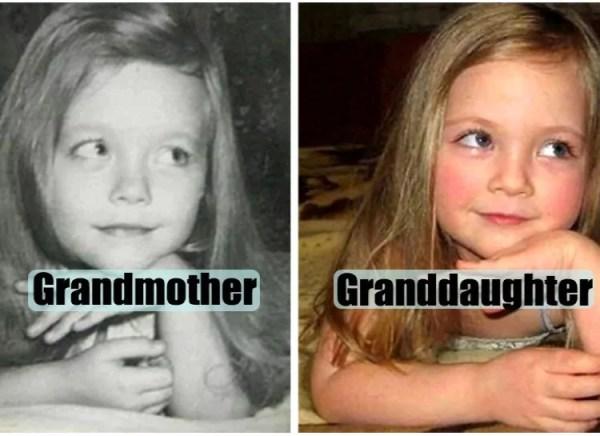 filhos idênticos aos pais quando tinham sua idade - Just Real Moms